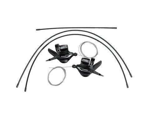 Shimano Acera SL-M360 Trigger Shifters (Black) (Pair) (3 x 8 Speed)