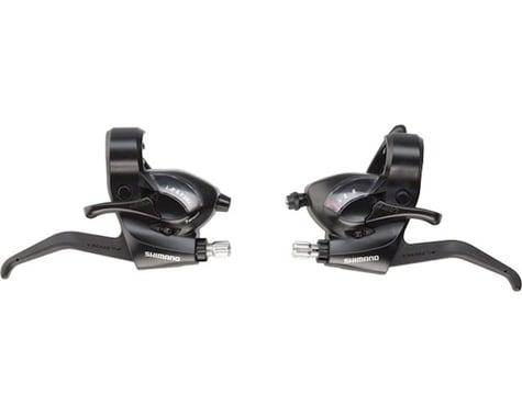 Shimano ST-EF41 Brake/Shift Levers (Black) (Pair) (3 x 7 Speed)