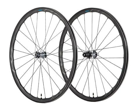 Shimano WH-RS770 C30 Disc Wheelset (Black) (Shimano/SRAM 11spd Road) (12 x 100, 12 x 142mm) (700c / 622 ISO)
