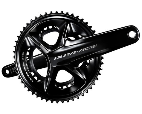 Shimano Dura-Ace FC-R9200 Crankset (Black) (2 x 12 Speed) (Hollowtech II) (165mm) (52/36T)