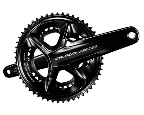 Shimano Dura-Ace FC-R9200 Crankset (Black) (2 x 12 Speed) (Hollowtech II) (160mm) (50/34T)