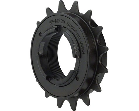 "Shimano MX30 Freewheel (Black) (1/2"" x 3/32"") (16T)"