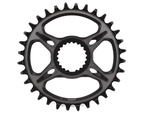 Shimano XTR M9100 Direct Mount Chainring (Black) (0mm Offset) (32T)