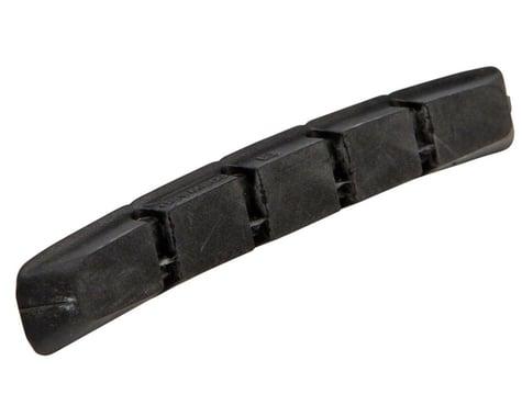 Shimano M70 V-Brake Pad Inserts (Black) (Pair) (1 Pair) (Machined Sidewall)