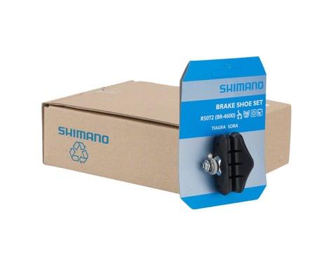 Shimano Tiagra BR-4600 R50T2 Road Brake Pads (Black) (5 Pairs)