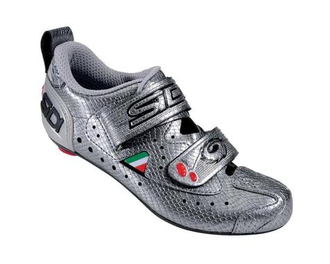 Sidi Women's T2 Carbon Triathlon Shoes (Silver)