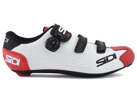 Sidi Alba 2 Road Shoes (White/Black/Red) (45)