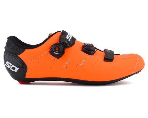 Sidi Ergo 5 Road Shoes (Matte Orange/Black) (42)