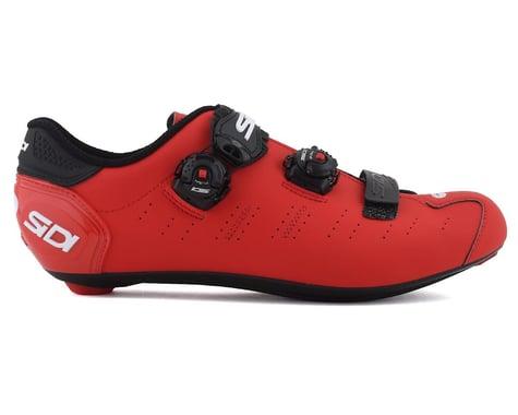 Sidi Ergo 5 Road Shoes (Matte Red/Black) (45.5)