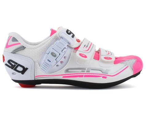 Sidi Genius 7 Womens (White/Pink Fluorescent) (Limited Availability)