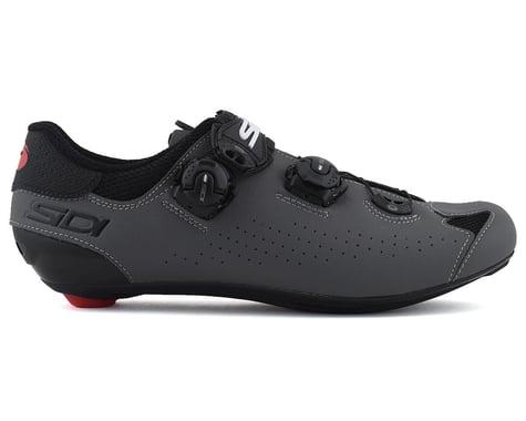 Sidi Genius 10 Road Shoes (Black/Grey) (48)
