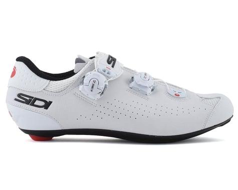 Sidi Genius 10 Road Shoes (White/Black) (47)