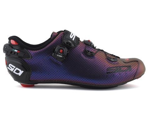 Sidi Wire 2 Carbon Air Road Shoes (Blue/Red Iridescent)