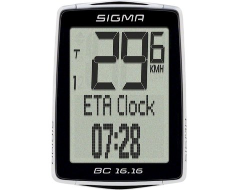 Sigma BC 16.16 Cycling Computer (Wired)