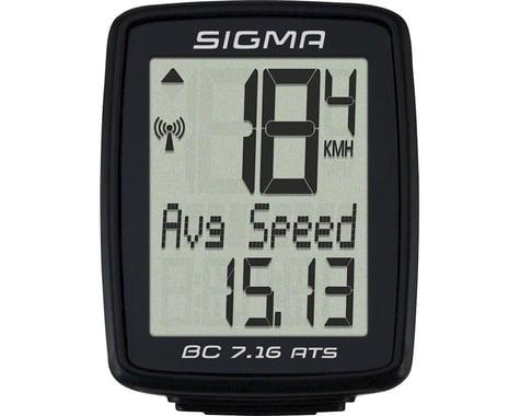 Sigma BC 7.16 ATS Bike Computer (Black) (Wireless)