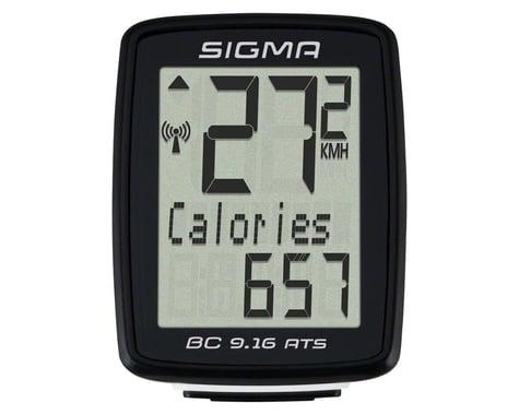 Sigma BC 9.16 ATS Bike Computer (Black) (Wireless)