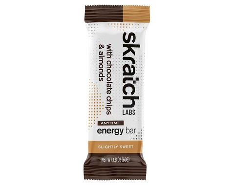 Skratch Labs Anytime Energy Bar (Chocolate Chip & Almond) (12   1.8oz Packets)