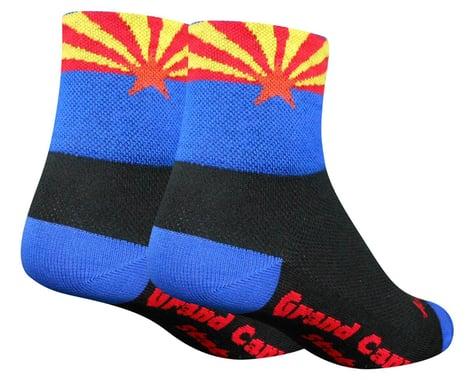 """Sockguy 3"""" Socks (AZ Flag) (S/M)"""
