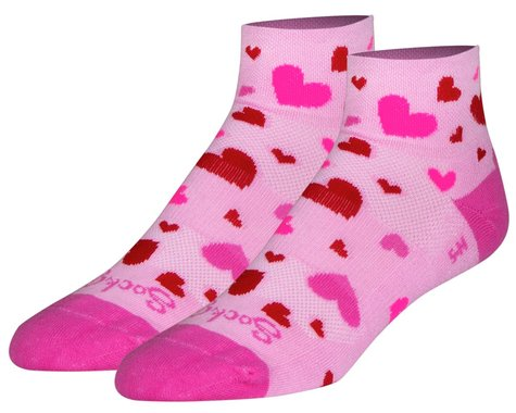 "Sockguy 2"" Socks (Hearts) (S/M)"