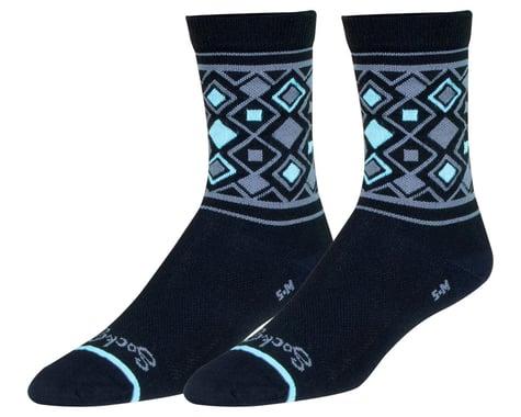"""Sockguy 6"""" Socks (Diamond) (L/XL)"""