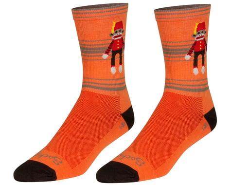 """Sockguy 6"""" Socks (Funky Monkey) (L/XL)"""