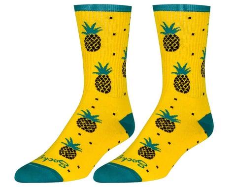 "Sockguy 6"" Socks (Pineapple) (L/XL)"