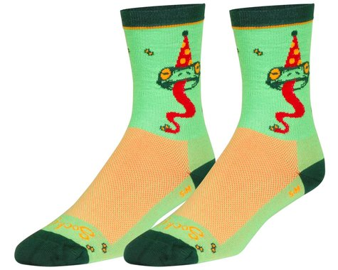 "Sockguy 6"" Socks (Ribbit) (L/XL)"