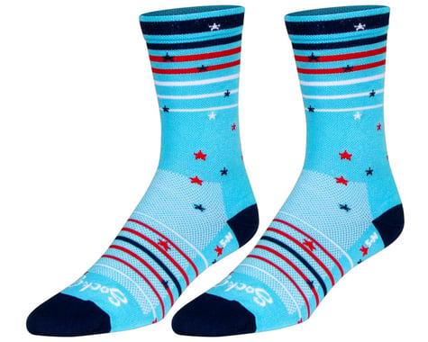 """Sockguy 6"""" Socks (Sparkler) (L/XL)"""