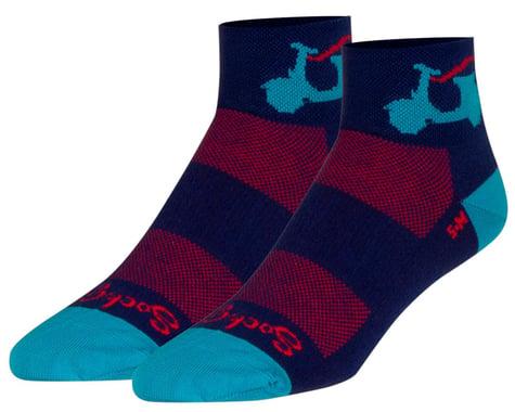"""Sockguy 2"""" Socks (Bella) (S/M)"""