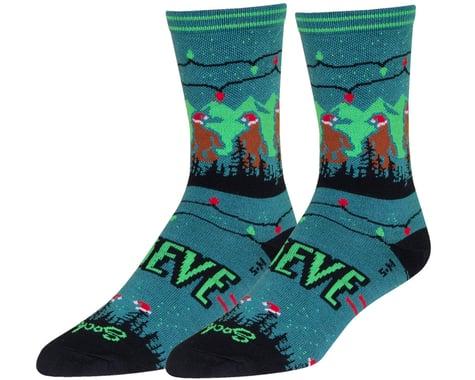 """Sockguy 6"""" Socks (Santa Squatch) (S/M)"""