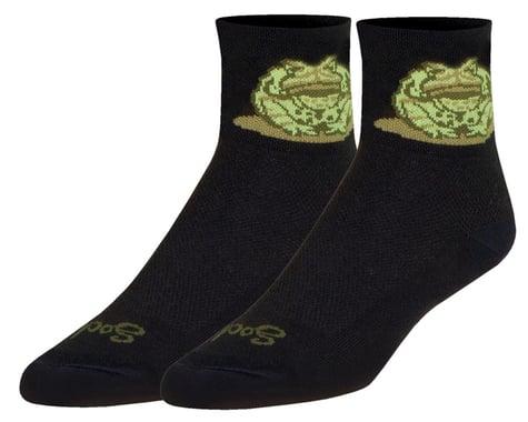 """Sockguy 3"""" Socks (Lick The Toad) (L/XL)"""