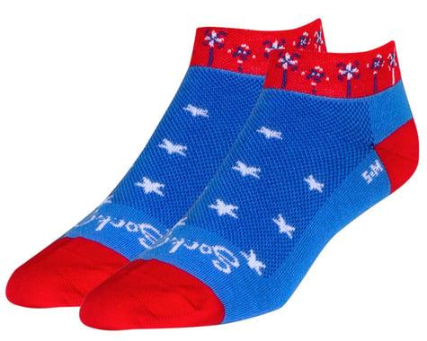 "Sockguy 1"" Socks (Pinwheel) (S/M)"