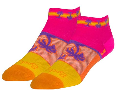 "Sockguy 1"" Socks (Tropical) (S/M)"
