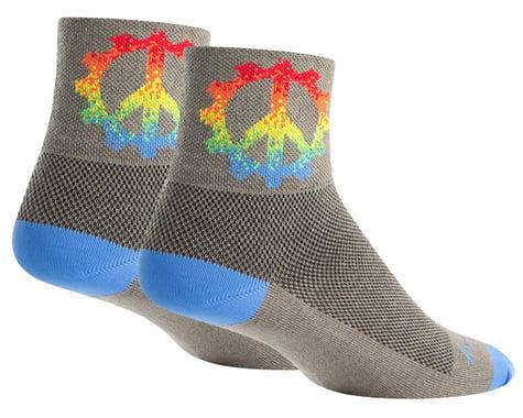 "Sockguy 3"" Socks (Peace Ring) (L/XL)"