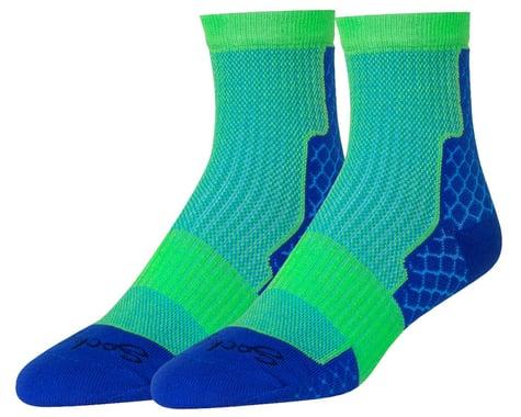 """Sockguy 4"""" Trailhead Socks (Royal) (L/XL)"""