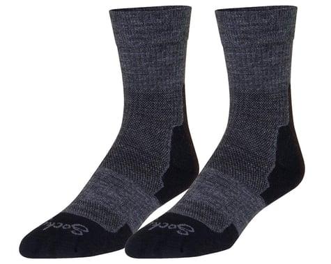 """Sockguy 7"""" Trailhead Socks (Charcoal) (S/M)"""