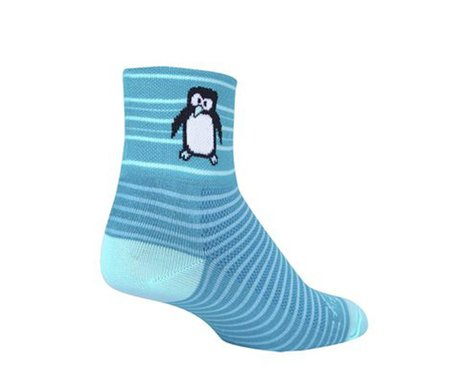 """Sockguy 3"""" Socks (Tux) (S/M)"""
