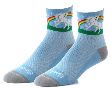 """Sockguy 3"""" Socks (Unicorn) (S/M)"""