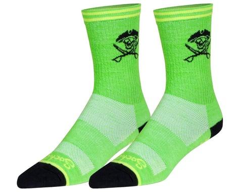 """Sockguy 6"""" Wool Socks (Arr) (L/XL)"""