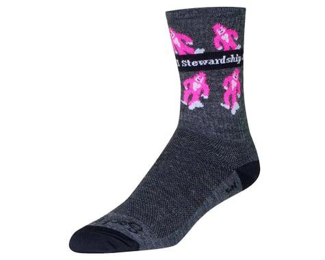 """Sockguy 6"""" Wool Socks (Sierra Buttes Trail)"""