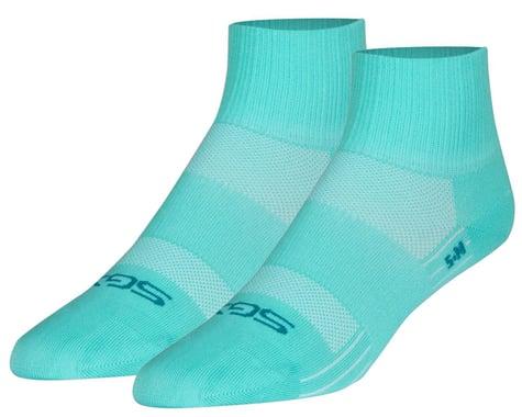 """Sockguy 2.5"""" SGX Socks (Aqua Sugar) (L/XL)"""