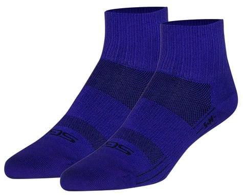 """Sockguy 2.5"""" SGX Socks (Purple Sugar) (L/XL)"""