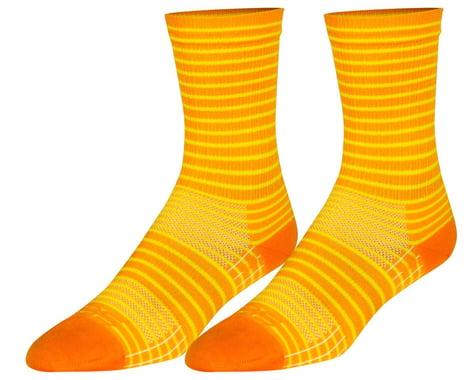 """Sockguy 6"""" SGX Socks (Gold Stripes) (L/XL)"""