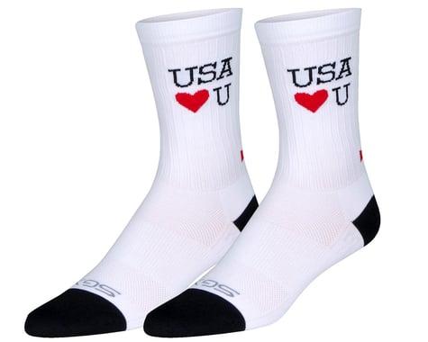 """Sockguy 6"""" SGX Socks (Scrubs) (L/XL)"""