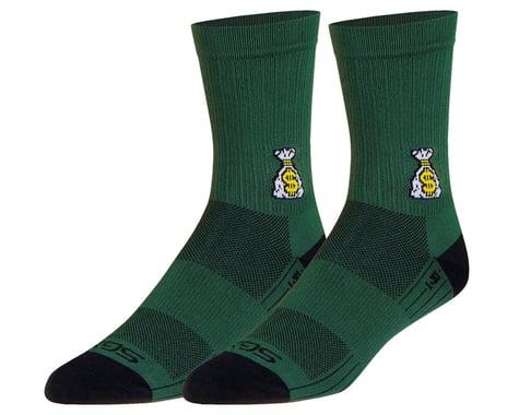 "Sockguy 6"" SGX Socks (Money Bags) (L/XL)"