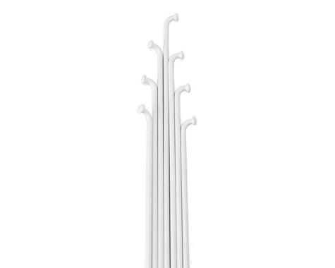 Soma Straight Gauge Spokes (White) (36) (308mm)