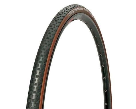 Soma Shikoro Armored Clincher Tire (Black/Brown) (33mm) (700c / 622 ISO)