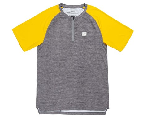 Sombrio Men's Ridgeline Short Sleeve Jersey (Mustard/Heath) (L)