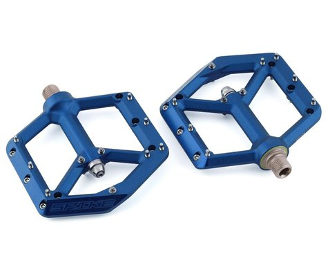 "Spank Spike Platform Pedals (Blue) (9/16"")"