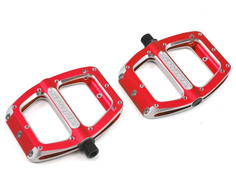 Spank Spoon Pedals (Red)